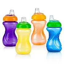 Nuby Soft Spout Easy Grip Sippy Cup - 4 pk.