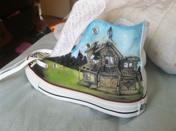 Pierce the Veil: Collide with the Sky album cover converse