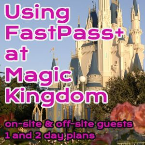 Using new FastPass+ rules to tour Magic Kingdom - 1 and 2 day touring plans for general groups and families with little ones that include Seven Dwarfs Mine Train