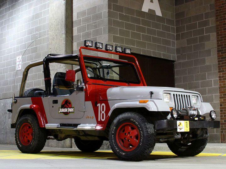 Jeep Wrangler YJ Jurassic Park
