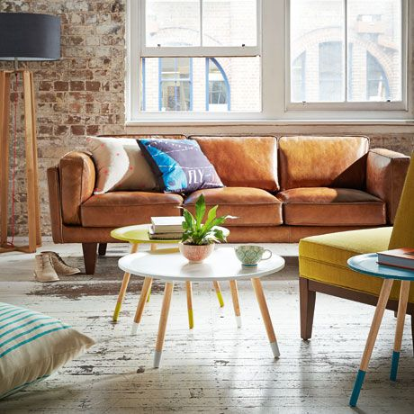 In Todays Series Of Living Room Inspiration We Are Covering Tan Leather Sofas A Sofa Is Statement Furniture Piece That Looks
