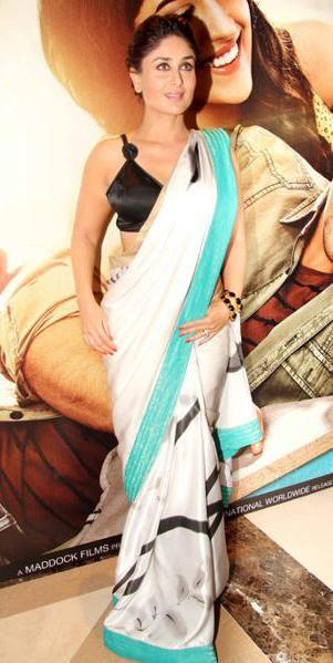 Kareena Kapoor in saree by satya paul #saree #sari #blouse #indian #hp #outfit #shaadi #bridal #fashion #style #desi #designer #wedding #gorgeous #beautiful