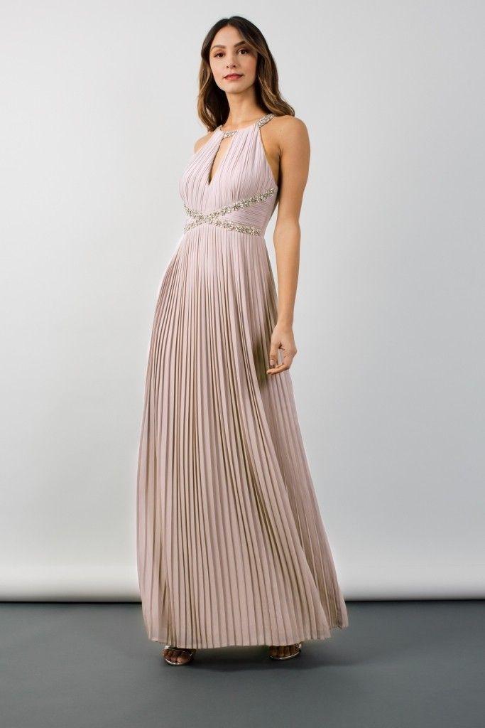 48b4449b0aab TFNC Avril Mink Maxi Dress | Bridesmaid dresses in 2019 | Mink ...