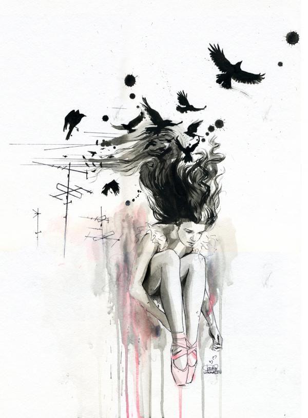 Illustrations by Russian artist Lora Zombie