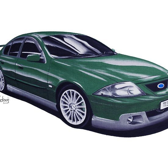 Ford FTE TE50 T3 Congo Green #ford #falcon #pencil #pencilsketch #artwork #drawing  #carart #cardrawings #automotiveart #australiancar