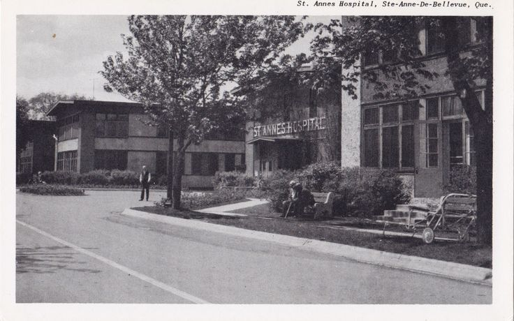 Ste Annes Hospital STE-ANNE-DE-BELLEVUE Quebec 1940-50 Merrimack Post Card Co. | eBay