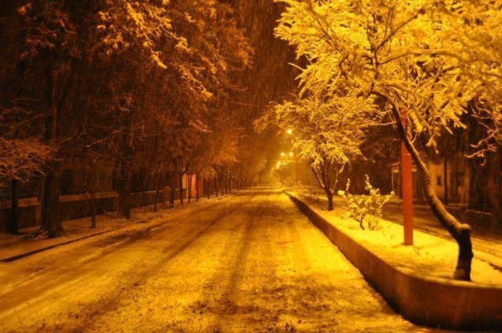Noche de invierno en Andacollo.