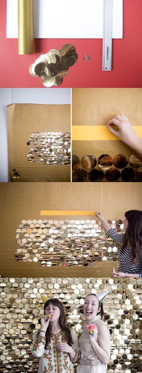 Des paillettes. Du DIY, parfait pour #mapauseentrecopines