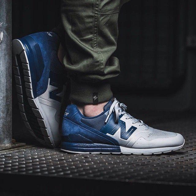 New Balance (grau / blau) - Sneaker Store Fulda