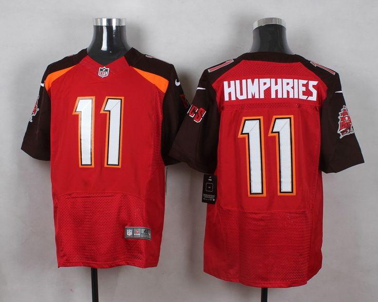 Men's NFL Tampa Bay Buccaneers #11 Adam Humphries Red Elite Jersey