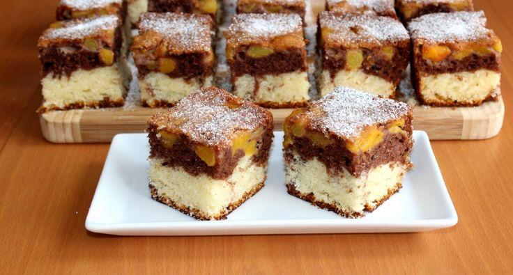 Réteges nektarinos süti recept | APRÓSÉF.HU - receptek képekkel