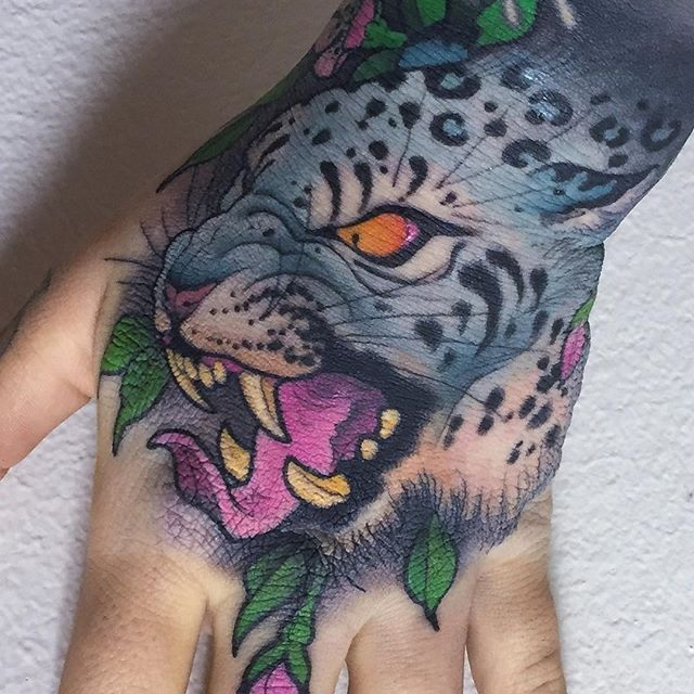 98 best images about neo traditional tattoos ref on pinterest for Animal hand tattoos