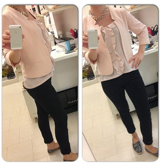 Soaked in Luxury top and blazer