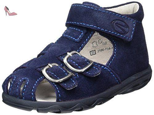 Kinderschuhe Terrino, Chaussures Marche Bébé Garçon, Blau (Atlantic/Lagoon), 26 EURichter