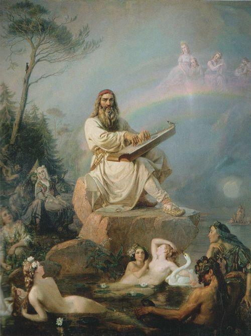 Vainamoinen's Play - Robert Wilhelm Ekman  1866: