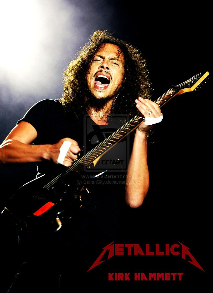 Kirk Hammett~One of the best guitarists EVER.
