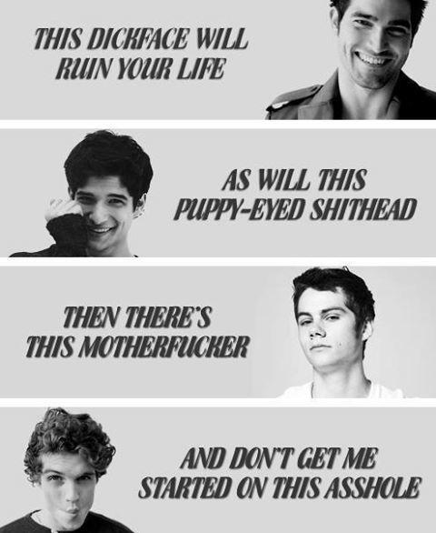 Teen Wolf boys...