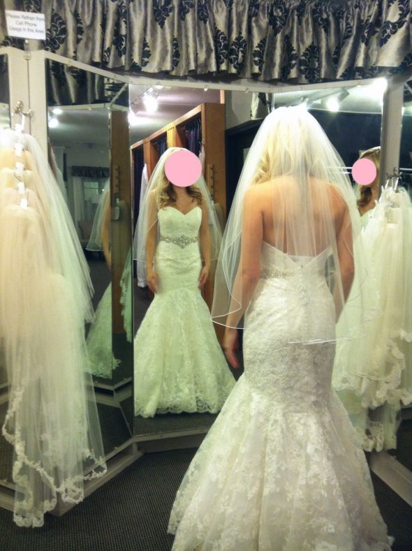 My dress came in, a little worried about alterations - Morilee 1862 « Weddingbee Boards