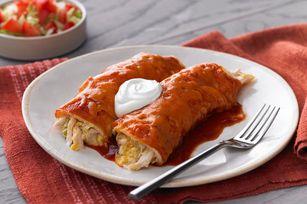 Chicken & Green Chili Enchiladas recipe. Made for Cinco di Mayo but