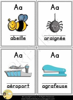 FREE - French La Lettre A - activities for the letter A