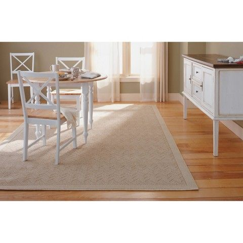 threshold chevron rug