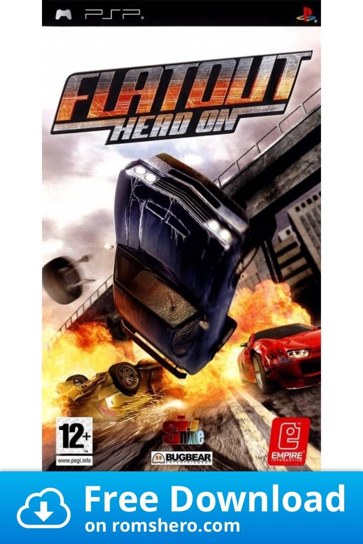 Download Flatout Head On Playstation Portable Psp Isos Rom