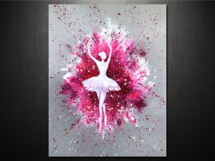 Modern dekoráció #festmény #vászonkép #lakberenezés http://ovardesign.hu/figurális-portré/2383-táncos-vászonkép.html?search_query=6462&results=1