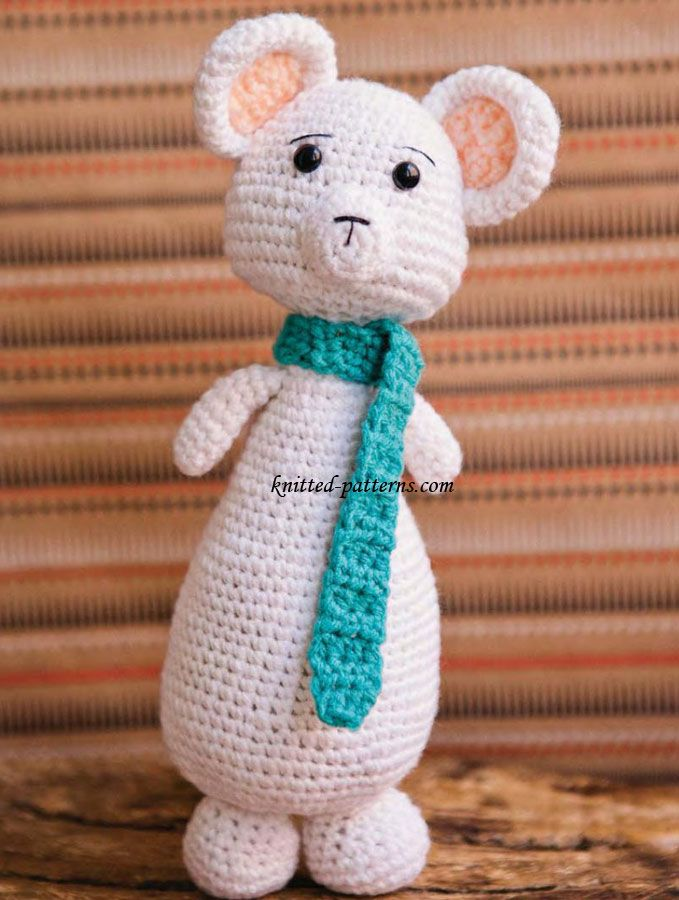 71 best Crochet Mouse~Free patterns images on Pinterest | Maus ...