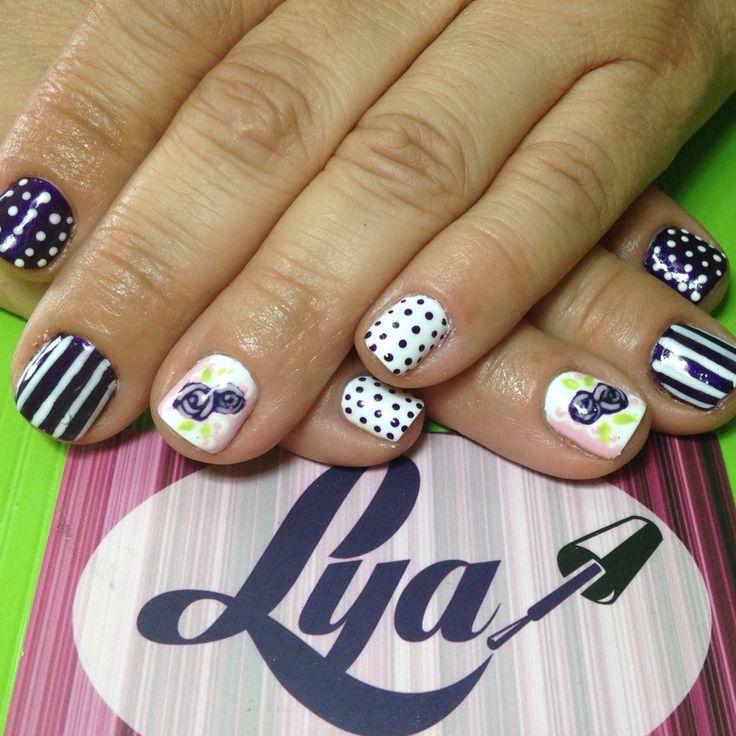 76 best images about lya cl sico on pinterest beautiful - Decorados de unas ...