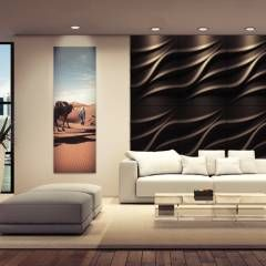 Dekorative Wandpaneele Aus Gips LOFT DESIGN SYSTEM : Moderne Wohnzimmer Von  Loft Design System Deutschland