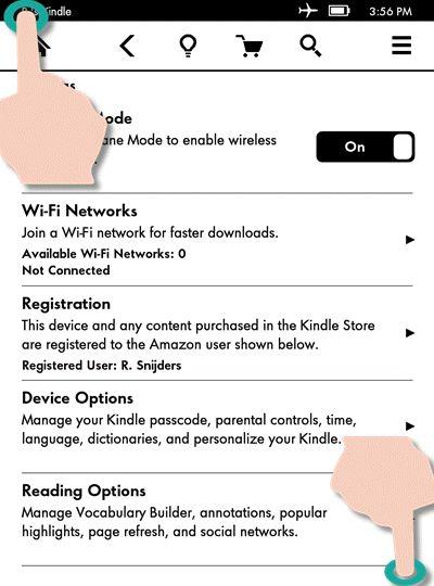 15 november 2014: Screenshots maken op een Kindle Paperwhite