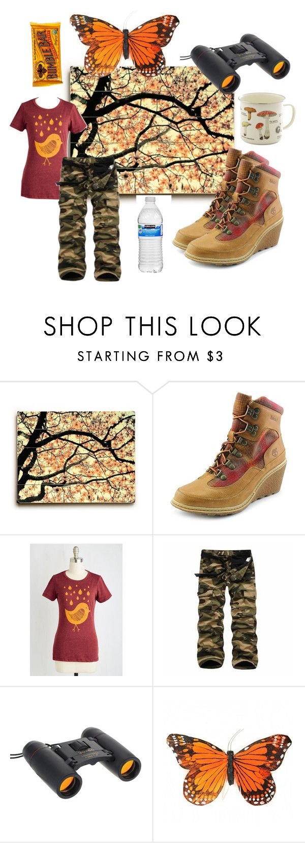 """""""A hike"""" by perunica ❤ liked on Polyvore featuring mode, Timberland, Hiking et activewear"""