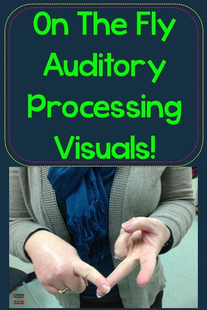 Tips for helping students to cue memory and retention with only your hands. Great for students with auditory processing disorders, autism, and other disabilities.