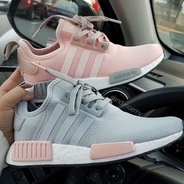 Discovered By Justine Find Images And Videos About Pink Shoes And Grey On We Heart It The App To Get Lost Sneakers Trending Womens Shoes Pink Tennis Shoes