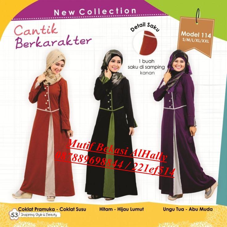 Busana Muslim Mutif 114 Harga 255.000 Open Reseller & Agen Disc 20% - 35%