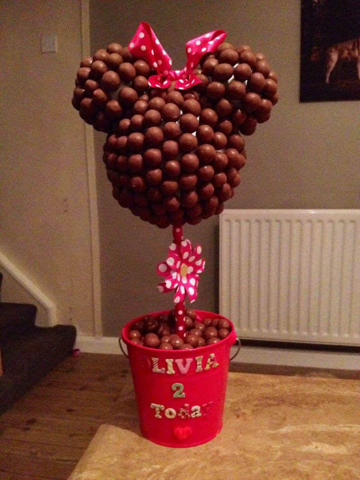 Minnie Mouse Sweet tree ... Labour of love!