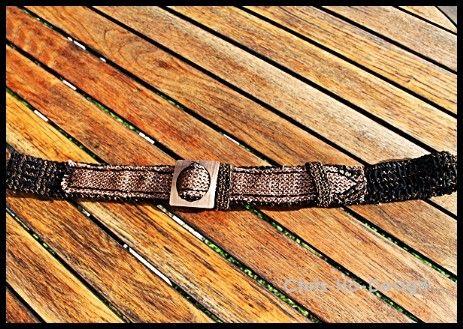 Belte i svart, brunt og bronse - Chris-Ho.com