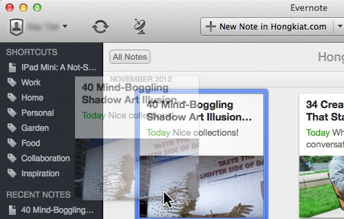 Evernote 5 For Mac And IOS: 10 New Features You Should Know