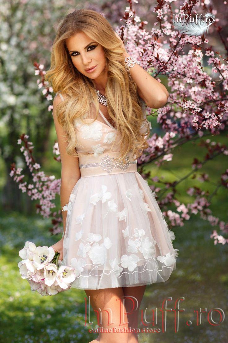Rochie eleganta princess rose