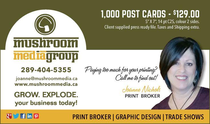 Mushroom Media Group Ad Design