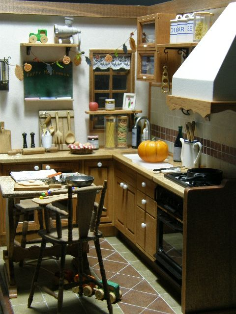 sweet kitchen, Hinazo Miniature, another amazing Japanese miniature artist blog