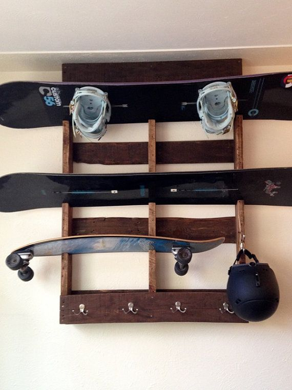 snowboard equipment shelf hanger by inplanesight on etsy snowboard room pinterest. Black Bedroom Furniture Sets. Home Design Ideas