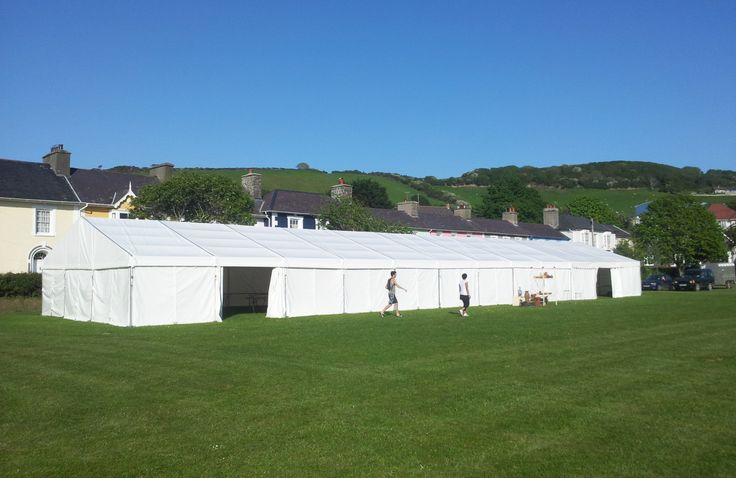 Marquee for Ceredigion Growers Plant & Craft Festival, installed by www.24carrotevents.co.uk