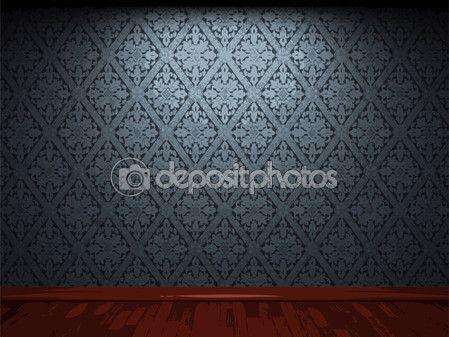 Vector fondo de papel tapiz de tela iluminada