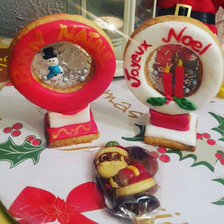 Christmas balls cookies