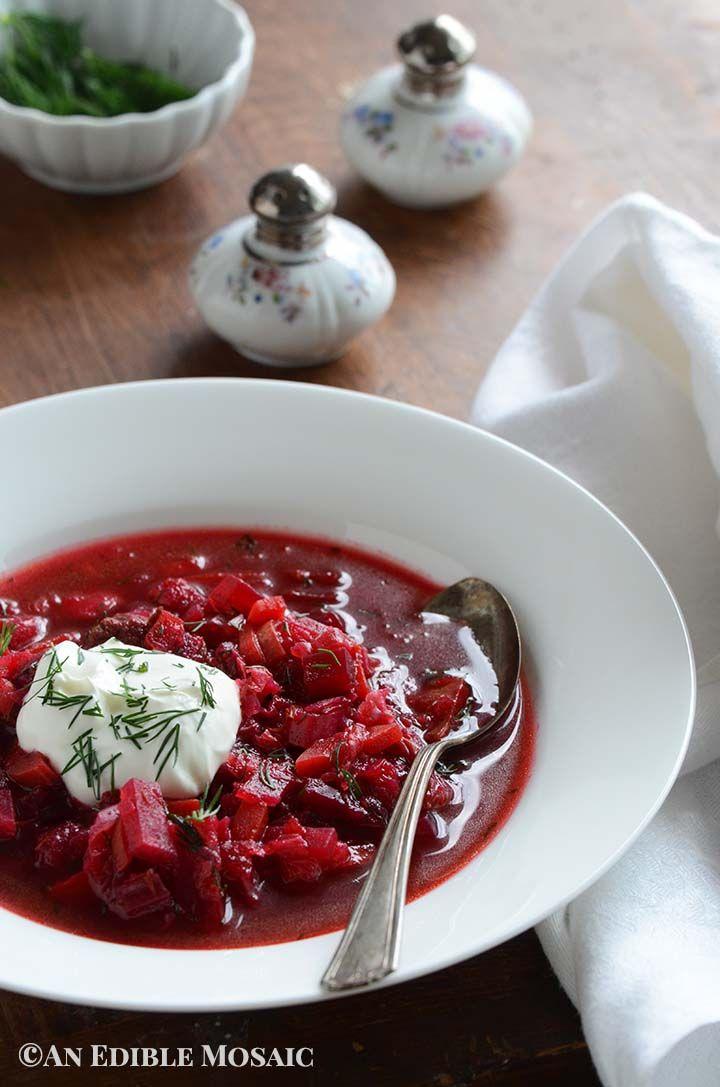 Vegetarian Borscht Recipe Recipe Borscht Recipe Beet Soup Borscht