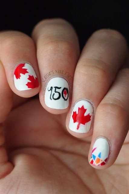 What's Up Canada Day? FREE Nail Vinyls!