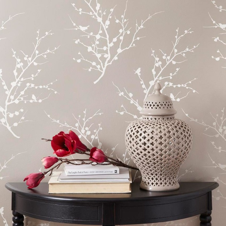 """$98.00 renter's wallpaper    -Water-based vinyl-coated temporary wallpaper  -One double roll of wallpaper (20.5"""" x 33')  -Covers 56.37 square feet  -Peel-and-stick backing allows for easy application, repositioning, and removal  -Recommended for walls primed and painted with an eggshell or satin finish"""
