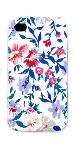 Floral Leather iPhone Cover