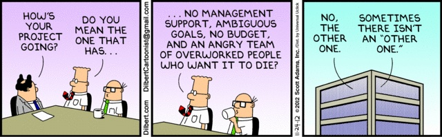 Dilbert comic strip for 11/24/2012 from the official Dilbert comic strips archive.